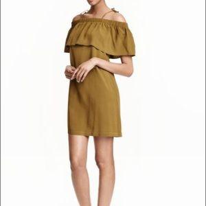 H&M off-shoulder mini dress